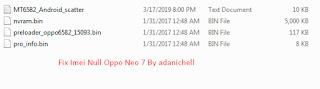 Fix Imei Null Oppo Neo 7 By adanichell