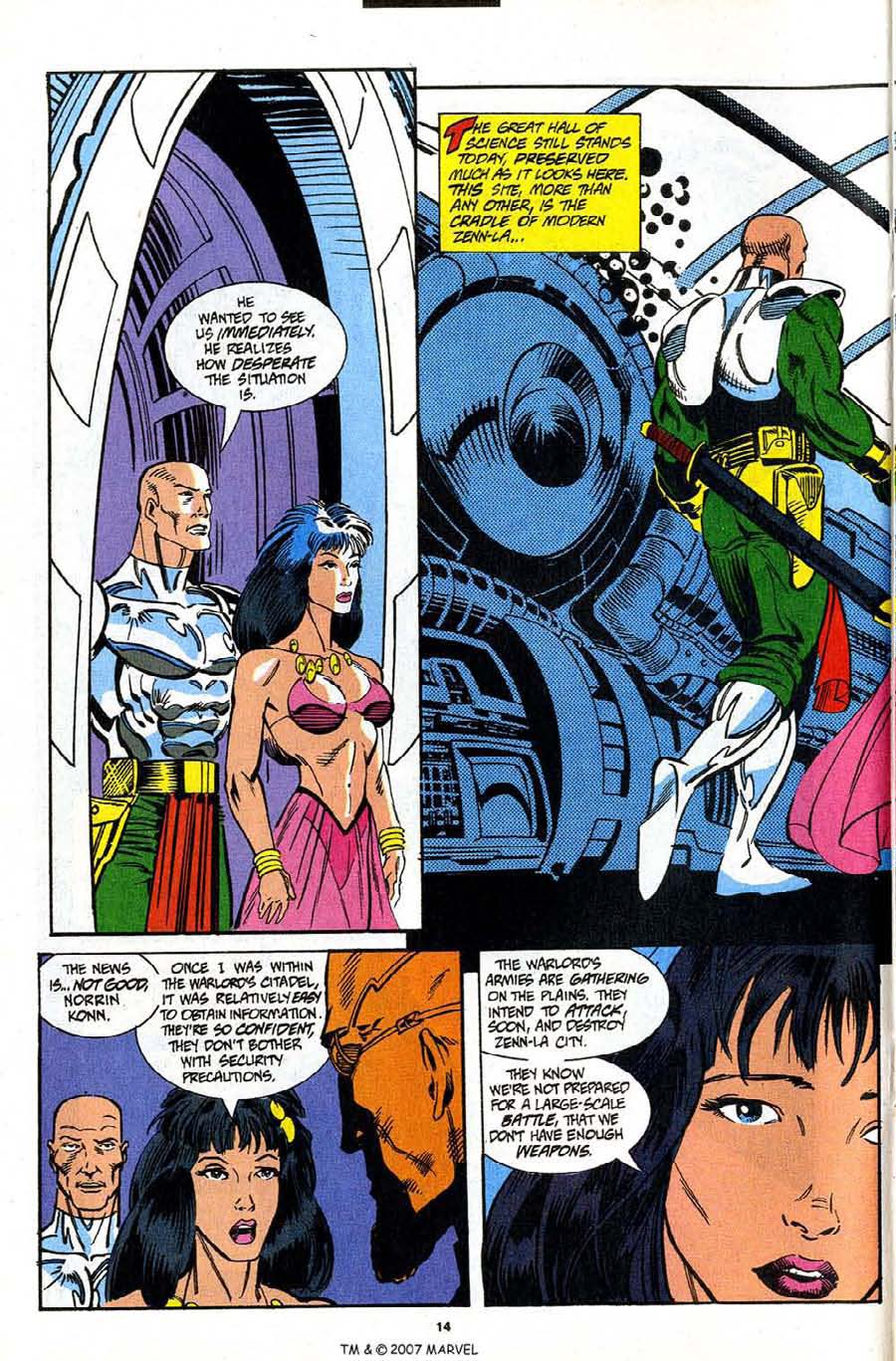 Read online Silver Surfer (1987) comic -  Issue #91 - 16