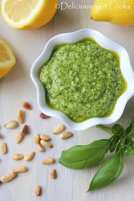 Spinach Basil Pesto  |  Delicious as it Looks