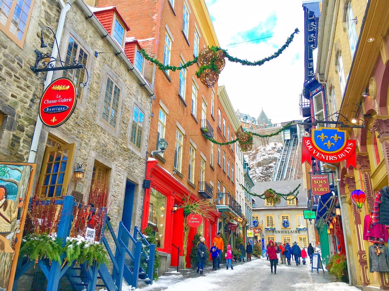 A Winter Wonderland in Quebec City