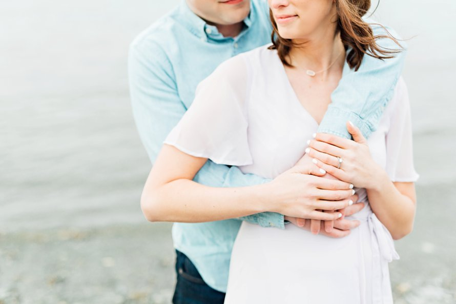 Spring Engagement Session-Waterfront Engagement-Bonney Lake Wedding Photographer-Something Minted Photography