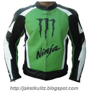 Gambar Jaket Kulit Kawasaki Ninja 250 RR