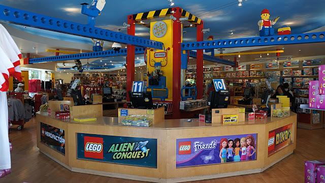 Legoland Florida Orlando - Loja de Lego Big Shop