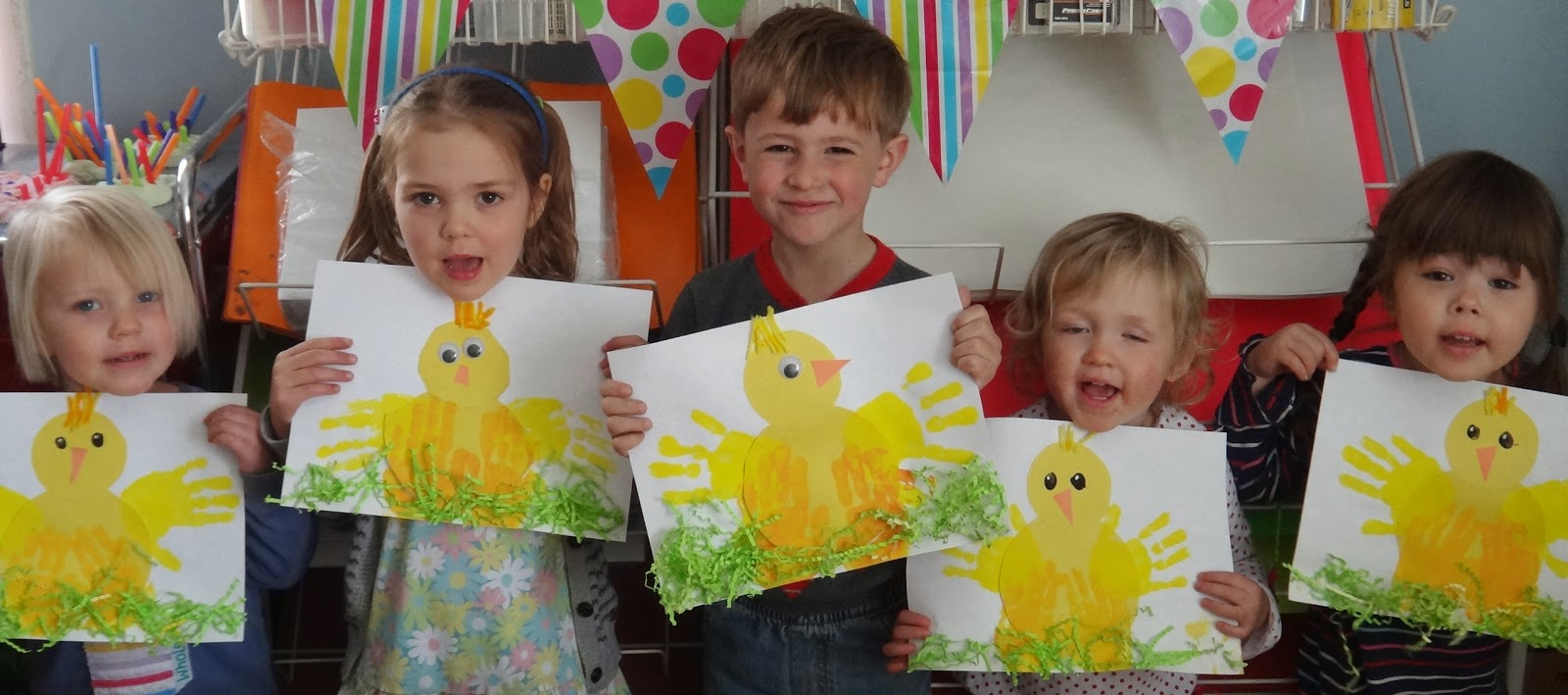 Easter Art For Kindergarten Great Spring Project