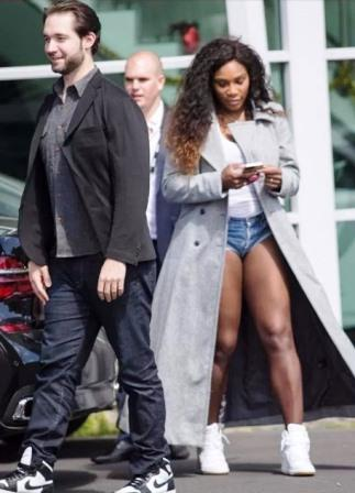 Serena Williams and fianacee