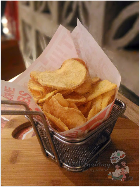 Salted Egg Potato Chips from Peri-Peri Charcoal Chicken at Robinsons Manila