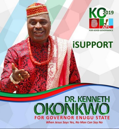 Actor Kenneth Okonkwo Declares To Contest For Governor In Enugu Under APC