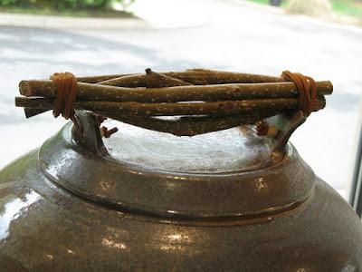 Twig Handle Pot