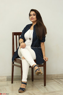 Manjusha in White Tight T Shirt and Black Jacket ~ Exclusive Celebrities Galleries 025