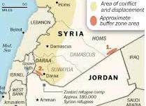UN urges Jordan to open its border to Syrians