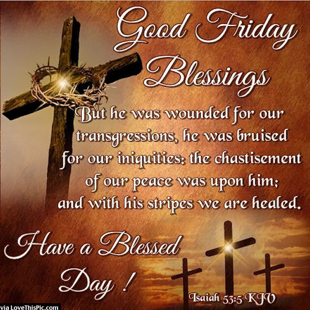 Blessed Good Friday Images