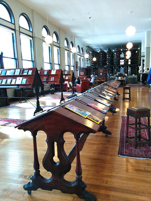 Mercantile Library Reading Room