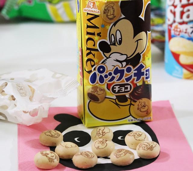 Pakuchon Disney character biscuits