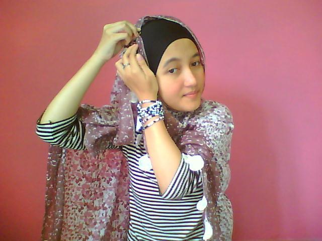 Hijabers Tutorial Sakinah Cara Memakai kerudung Hijab