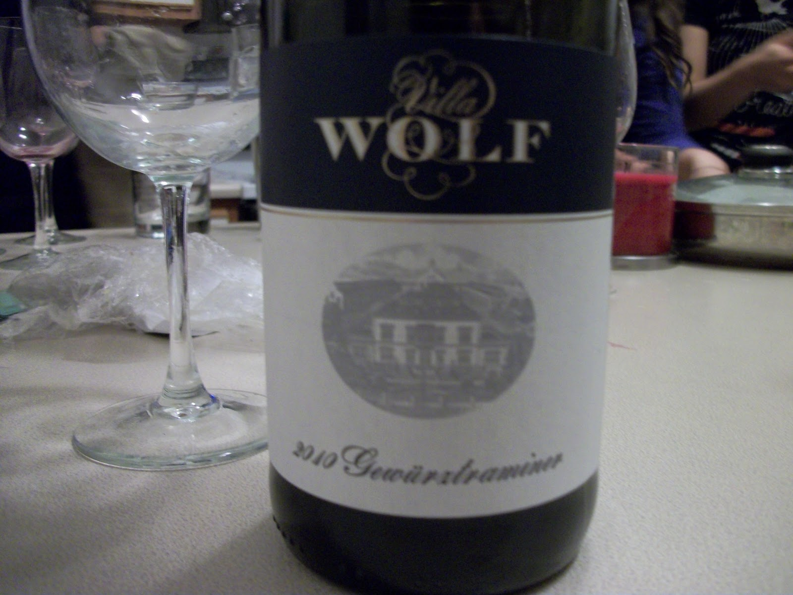 Ashley S Wine Blog Tasting Villa Wolf Gewurztraminer