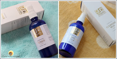 Atlantis Skincare Glowing Skin Cleansing Milk & Toner Review || For All Skin Types. Natural Beauty And Makeup Blog