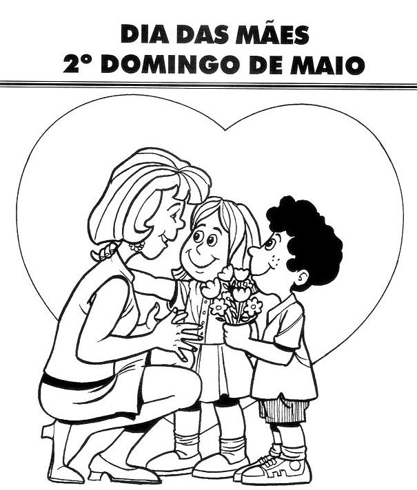 Projeto Para Dia Das Maes Para Maternal E Creche Pra Gente Miuda