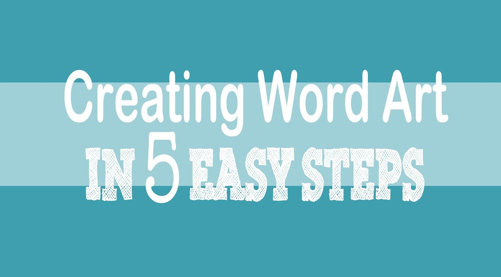 Monday Word Create Beautiful Word Art in 5