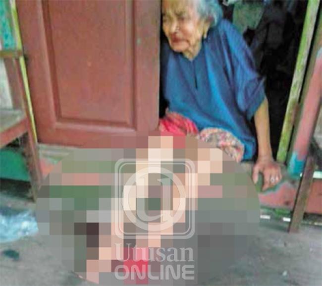Remaja Ketagih Dadah Kerat Kaki Nenek