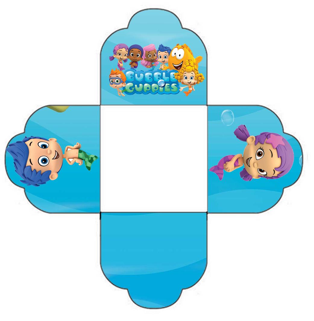 Bubble Guppies Free Printable Mini Kit