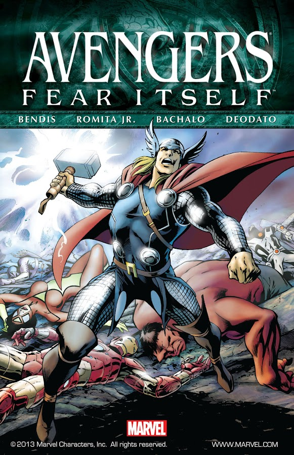 fear itself avengers