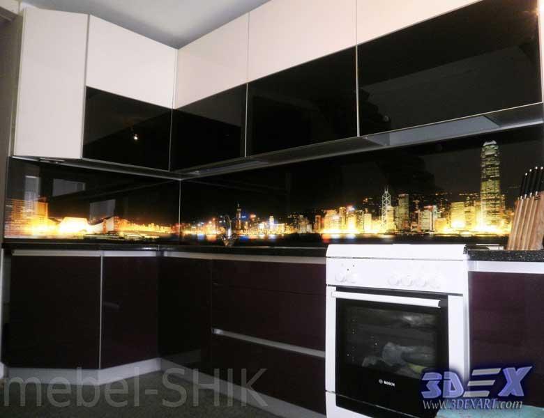 kitchen cabinet inserts ideas rustic lighting fixtures 3d backsplash panel - the best solution for