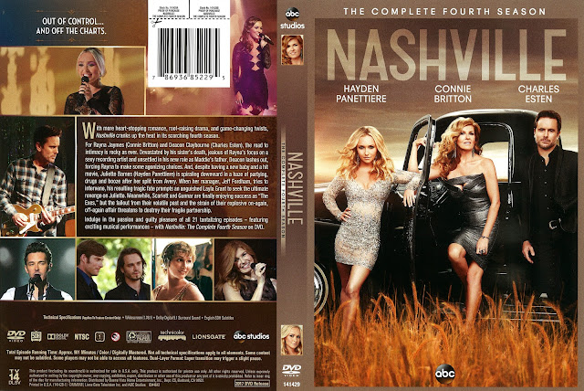 Nashville Season 4 DVD Cover