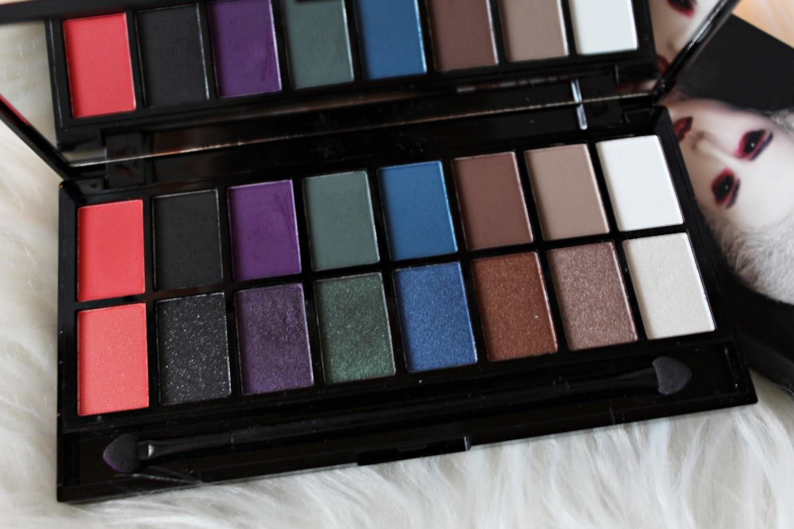 paleta cieni Dark Reign makeup revolution
