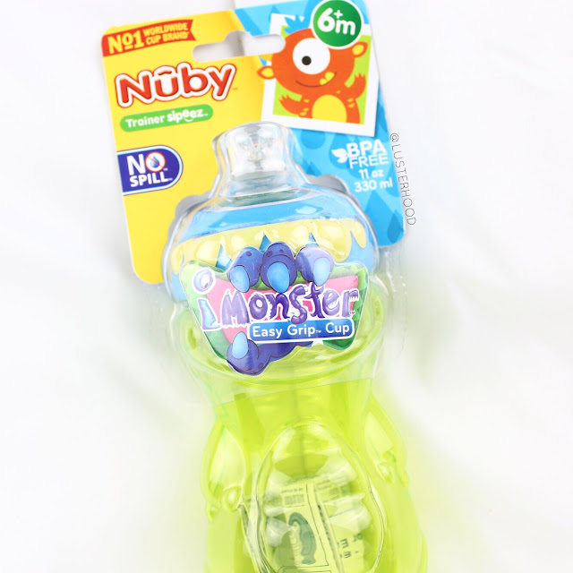 Nuby iMonster No Spill Cup  |  Lusterhood