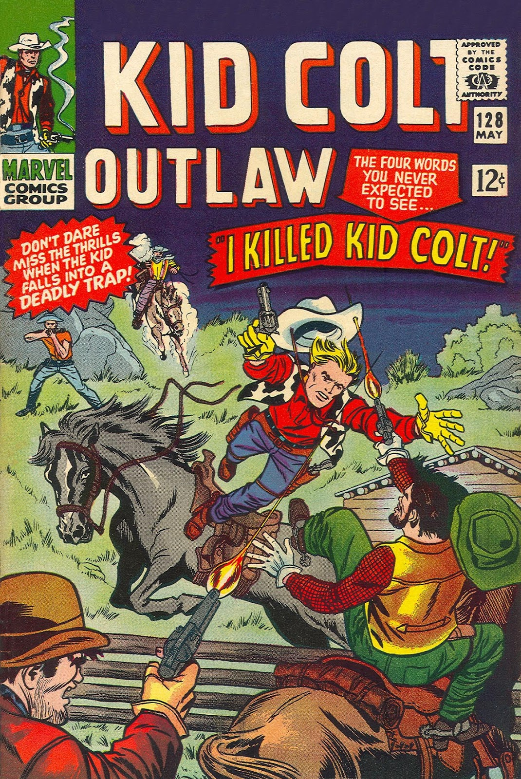 Kid Colt Outlaw issue 128 - Page 1
