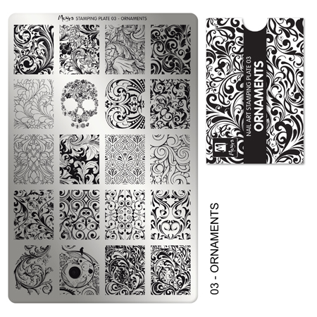 Lacquer Lockdown Moyra Nail Art Stamping Plates Review