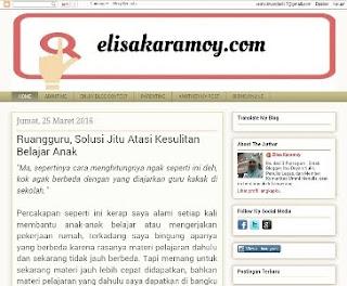 elisa karamoy blogger perempuan