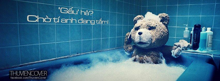 Ảnh bìa đã có gấu, ảnh bìa facebook đã có người yêu