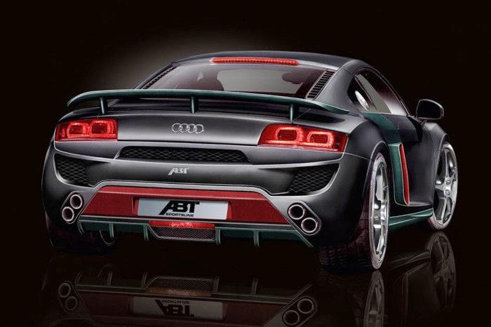 2008 Abt Audi R8 Black Car Hd Wallpaper Sport Car Pictures