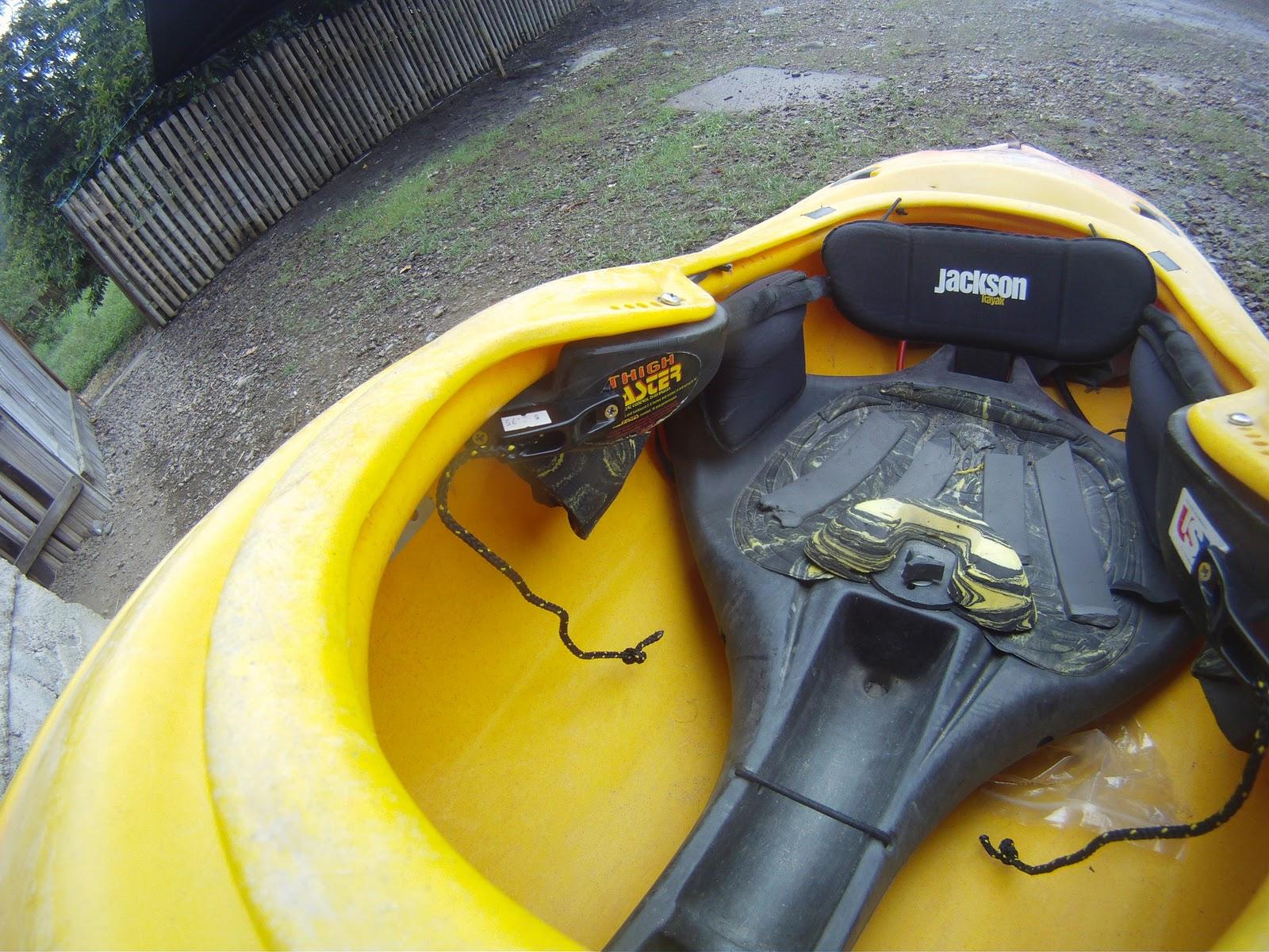 DIY Jackson Kayak Back band replacement  | Kayak Hot Dogs
