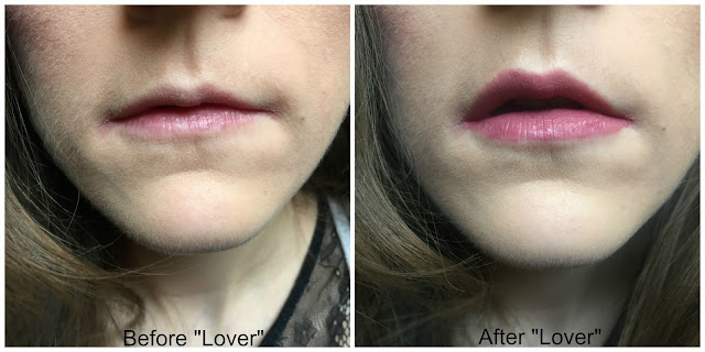 before and after maybelline superstay 24 matte ink lipstick lover