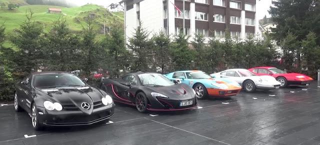 一体どんな集まり!?貴重なスーパーカーやクラシックカーが集結した駐車場がスゴすぎる! スーパーカーオーナーズサークル