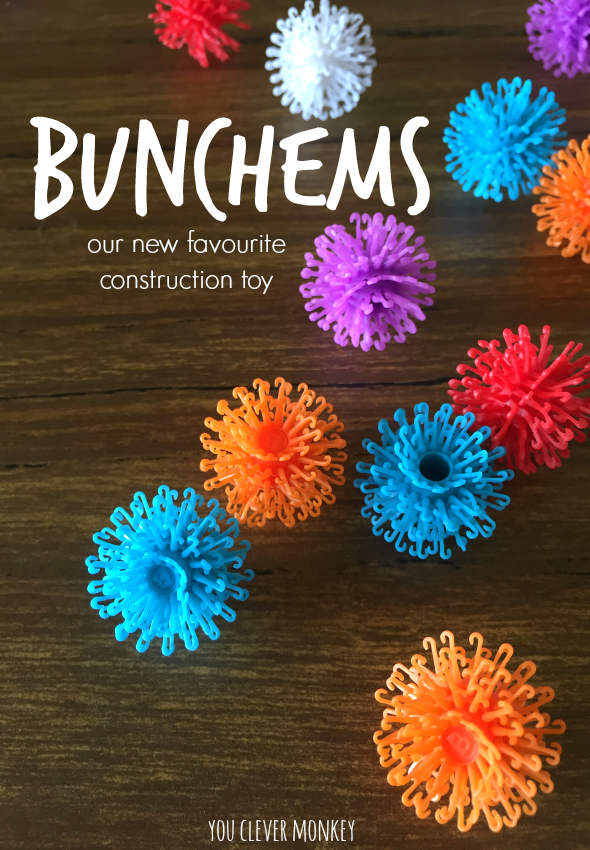 A Bunch of Bunchems - our new favourite construction toy! Be inspired  by all the different ways to play with Bunchems | you clever monkey