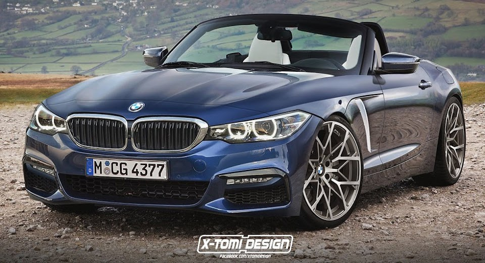 nouvelle bmw 2018. delighful nouvelle 2018 bmw z4 looks sharp in latest cgi nouvelle bmw