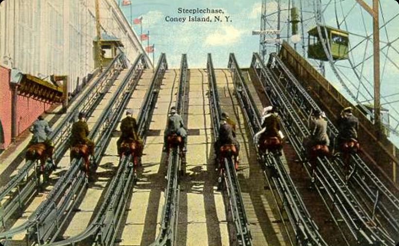 Coney Island Horse Race Ride