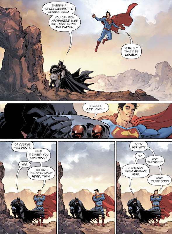 Wonder Woman Annual #1. Story: Greg Rucka, Vita Ayala, Michael Moreci, Collin Kelly, Jackson Lanzing Art: Nicola Scott, Claire Roe, Stephanie Hans, David Lafuente Colors: Romulo Fajardo Jr., Jordie Bellarie, John Rauch Letters: Jodi Wynne, Josh Reed, Dave Sharpe  Wonder Woman created by William Moulton Marston, H. G. Peter, Elizabeth Holloway Marston, Olive Byrne.