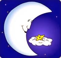 bulan, bintang