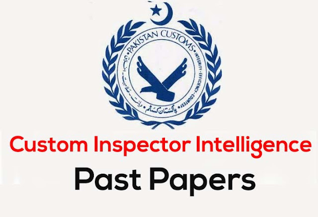 customs inspector past papers