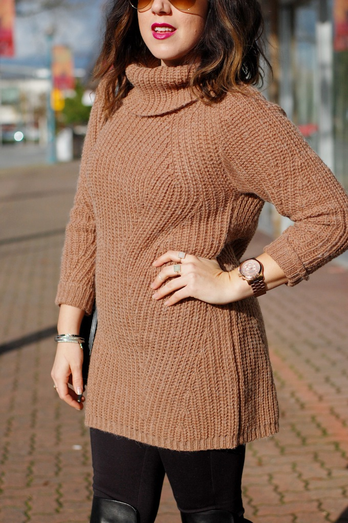 Gentle Fawn sweater tunic Vancouver fashion blogger