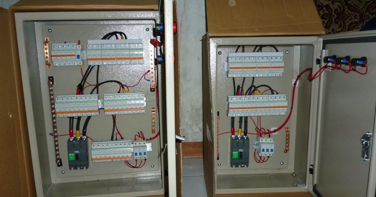 Ac Capacitor Wiring Diagram Etnik Sugitama Engineering Panel Feeder Untuk Lampu Dan