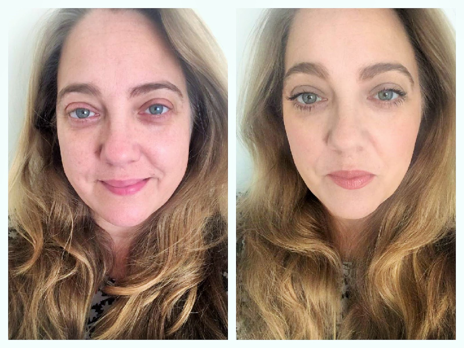 bare minerals before and after. bareminerals get glowing before and after wearing only the tsv in shade fairly light bare minerals