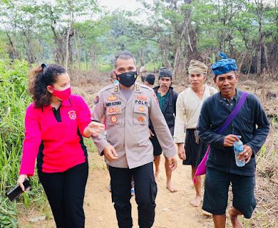 Ternyata ini, sosok Jaro Saija yang persiapkan Baju Baduy untuk Presiden Jokowi