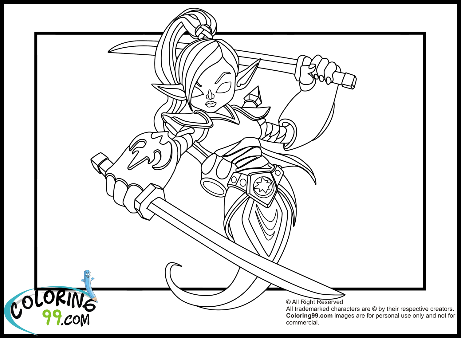Eye brawl the skylander free colouring pages for Skylanders giants coloring pages eye brawl