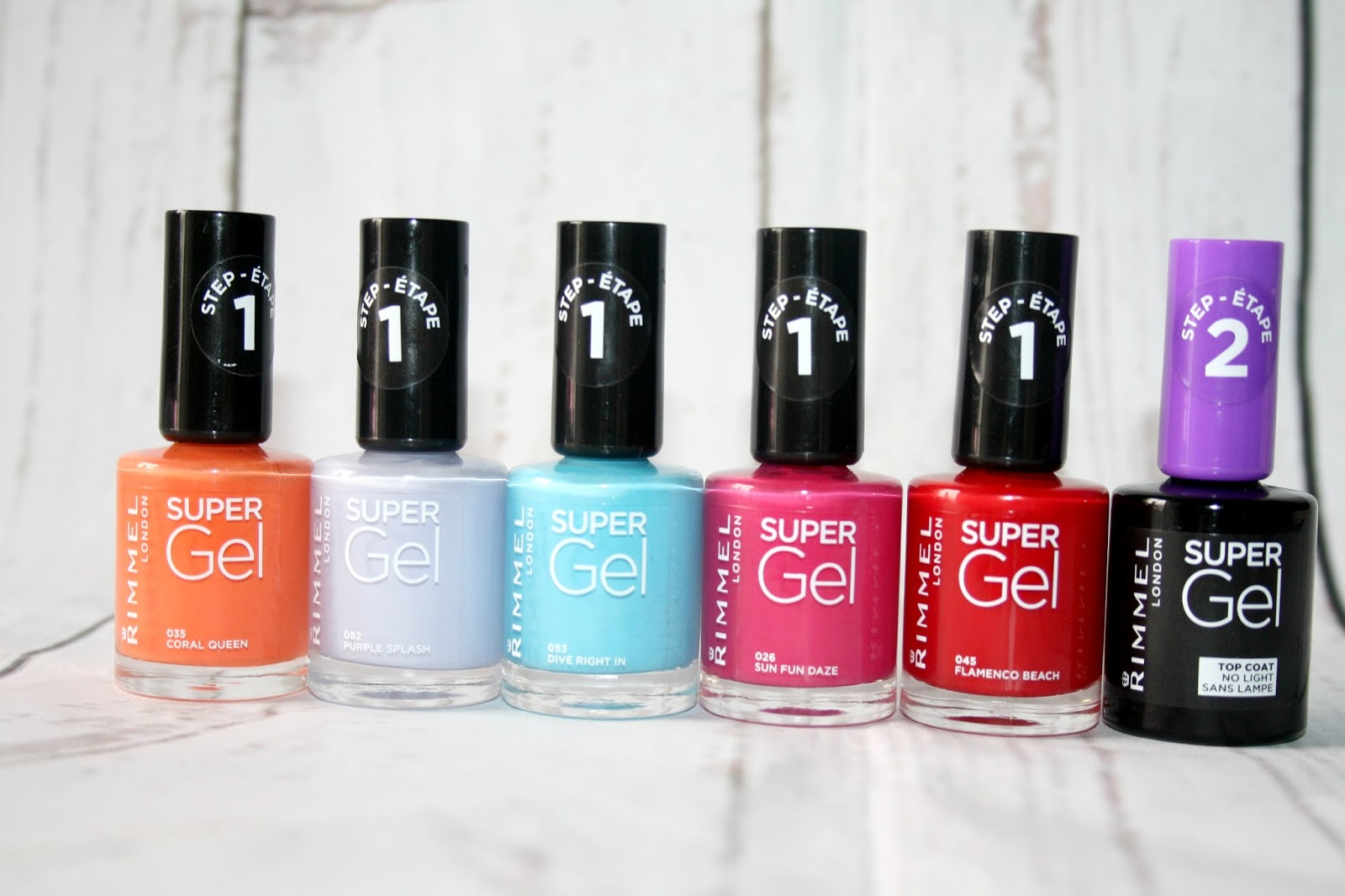 Beautyqueenuk A Uk Beauty And Lifestyle Blog Rimmel London New Super Gel Beach Ready Collection