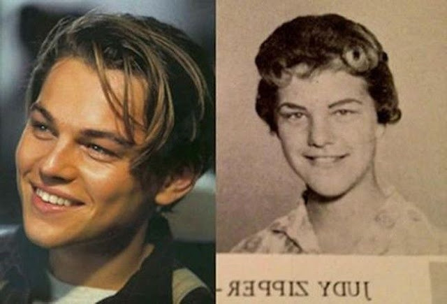 Leonardo DiCaprio and Judy Zipper